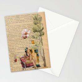 splash collage Stationery Cards