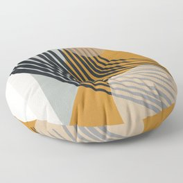 Abstract Shapes 33 Floor Pillow