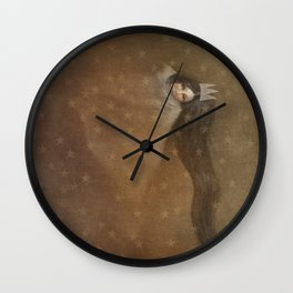 Sleeps With Stars 2 Wall Clock