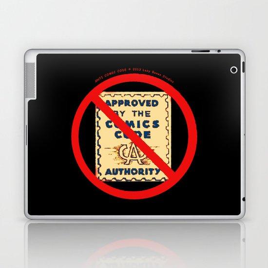 ANTI COMIC CODE 009 Laptop & iPad Skin
