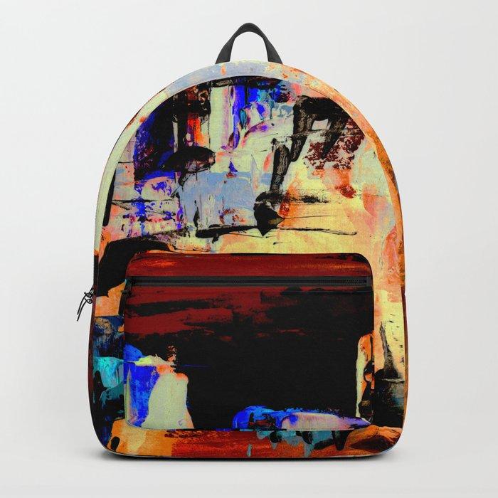 Sunset Cityscape Backpack