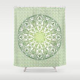 tapestryy green Shower Curtain