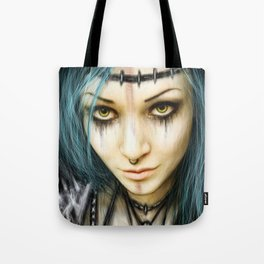 Unstoppable: A Vampiric Warrior Tote Bag