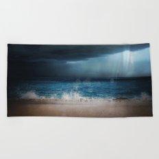 Dark Waters Beach Towel