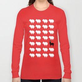 Don't be a sheep, Be a Llama Long Sleeve T-shirt
