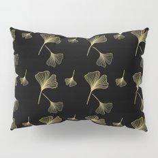 Ginkgo Black Gold Pillow Sham