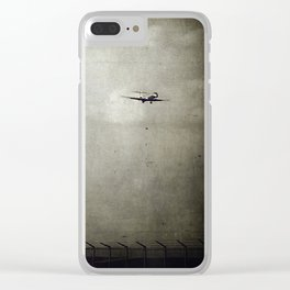 Sad Goodbyes Clear iPhone Case