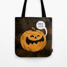 Pumpkin Season Tote Bag