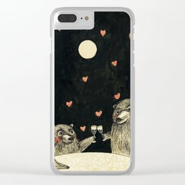 romance Clear iPhone Case