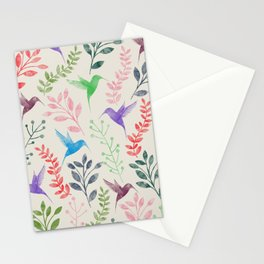 Floral & Birds II Stationery Cards