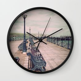 Swanage Pier Antique Wall Clock