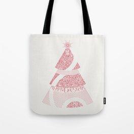 Christmas Tree / Red Tote Bag