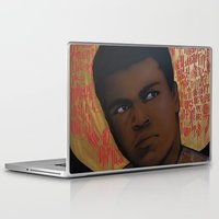 ali gulec Laptop & iPad Skins featuring Ali Bumaye Mr.Klevra by Mr.Klevra