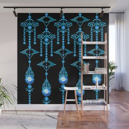 CASTELLINA JEWELS: COOL ELECTRIC BLUE Wall Mural