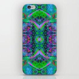 Techno Electric V (Ultraviolet) iPhone Skin