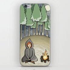 Campfire Girl iPhone & iPod Skin