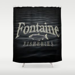 Fontaine Fisheries Underwater Shower Curtain
