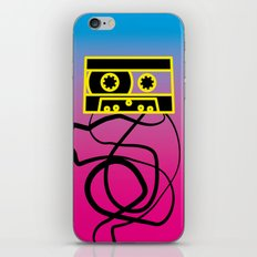 80's problems: Cassette Tape iPhone & iPod Skin