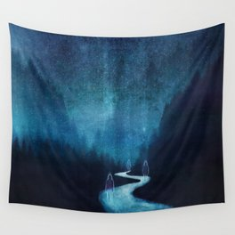 Ghost Town Wall Tapestry