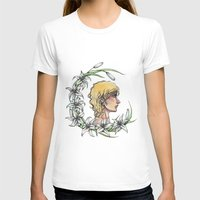 enjolras T-shirts featuring Enjolras and lilies by MonsterFromTheLAke