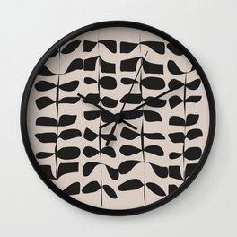 Kala Black Wall Clock