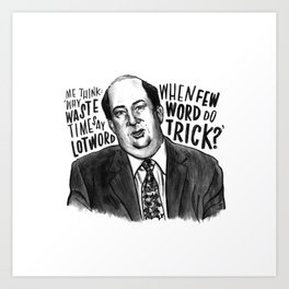 Kevin | Office Art Print
