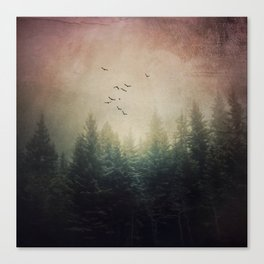 The Forest's Voice Canvas Print