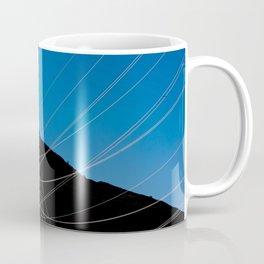 Power Lines Down The Mountain Coffee Mug