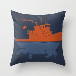 Tugger Throw Pillow
