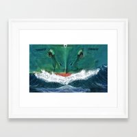 terminator Framed Art Prints featuring Terminator by Anthony M. Davis