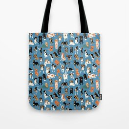 Hound District blue Tote Bag
