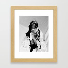 Faceless Framed Art Print