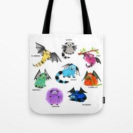Eight Little Iggys Tote Bag