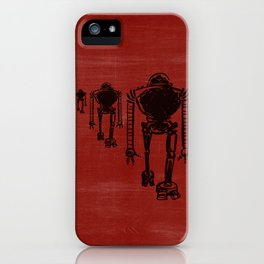 March Of The Robots iPhone Case