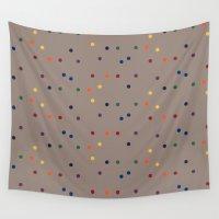 sprinkles Wall Tapestries featuring Sprinkles by D.J.D