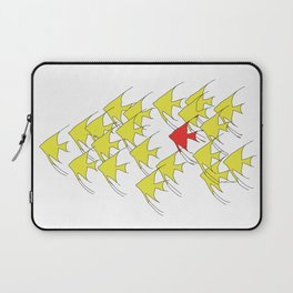 Unique and Belonging, Swim with your Tribe Laptop Sleeve