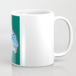 Lake Ladoga Russian map Coffee Mug