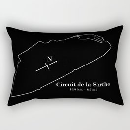 RennSport Shrine Series: la Sarthe Edition Rectangular Pillow