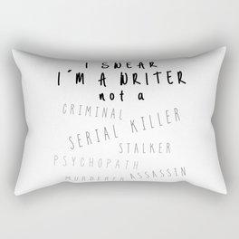 Writing Life Rectangular Pillow