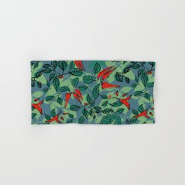 chillie (blue) Hand & Bath Towel