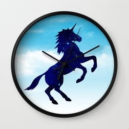 Unicorn In The Sky Wall Clock