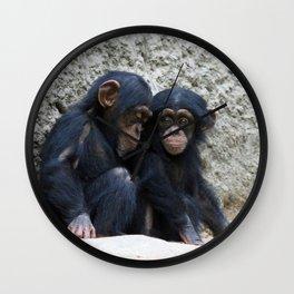 Chimpanzee 002 Wall Clock