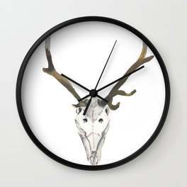 Standing Tall In The Spirit World Wall Clock