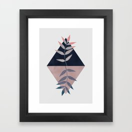 Geometry and Nature 3 Framed Art Print