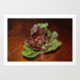 The Birthday Lettuce Art Print