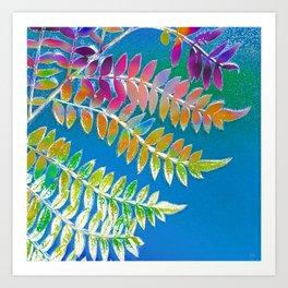 Azure Daydream Art Print