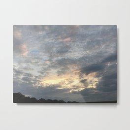 Multitude of Clouds Metal Print