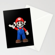Skull Mario Stationery Cards