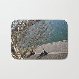 Seine river Bath Mat