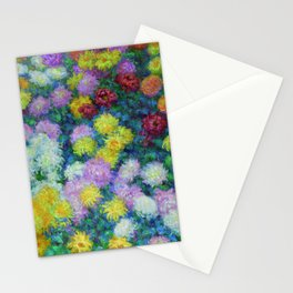 "Claude Monet ""Chrysanthemums"", 1897 Stationery Cards"